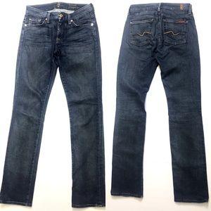 7FAMK Kimmie Straight Leg Jean